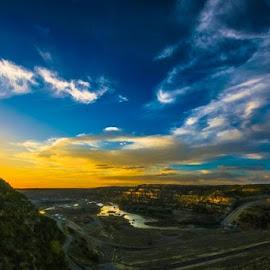 Big Valley by Daniel Nugent - Landscapes Sunsets & Sunrises