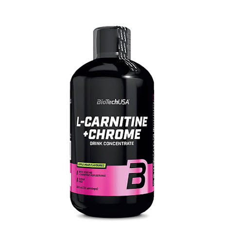 L-Carnitine + Krom, 500 ml, Orange