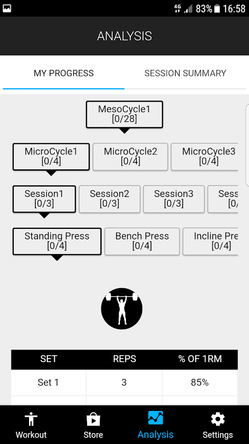 StratFit Strength Coach- screenshot