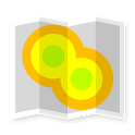 Cell Coverage Map: mobile network signal testing icon
