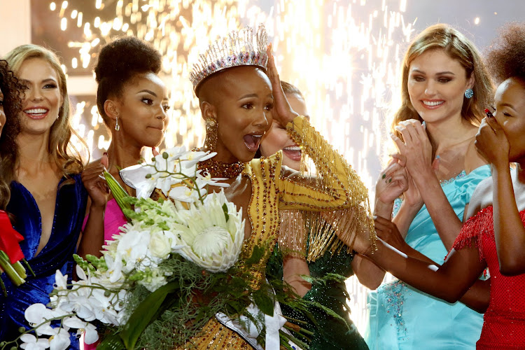 Shudufhadzo Musida was crowned Miss SA 2020 at the Table Bay Hotel in Cape Town on October 24 2020.