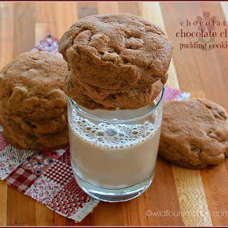Chocolate - Chocolate Chip Pudding Cookies