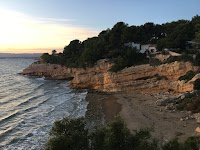 Cabo de Salou, an The almost private beach and cove