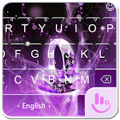 Purple Ring FREE Keyboard Theme