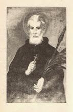 """Photo: Portret z książeczki  """"Święty Andrzej Bobola Żywa Ewangelia"""", 1987 r."""