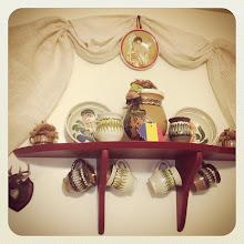 Photo: A Romanian little corner in a friend's house in Canada -Part 2 #intercer #romania #kitchen #tradition #map #wall #decor #canada #britishcolumbia #coquitlam #mapleridge #pittmeadows #craft #handmade #saucepan #kettle #cookware #cook #food - via Instagram, http://instagram.com/p/Xm6w9KpfvJ/