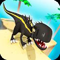 Jurassic Alive: World T-Rex Dinosaur Game icon