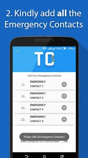 Take Care - Emergency Contacts- screenshot thumbnail