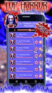 Top Horror Latest Ringtones screenshot 0