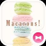 icon & wallpaper-Macarons!-