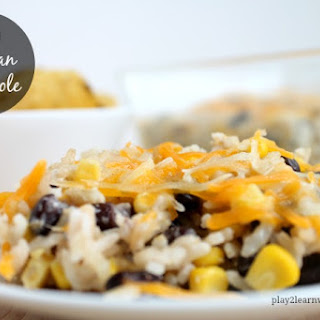 Easy Mexican Casserole.