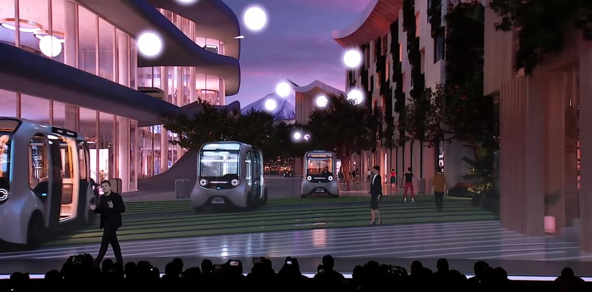 A Woven City foi criada dentro do contexto de desenvolvimento de carros autônomos pela Toyota. (Fonte: Bjarke Ingels/Reprodução)