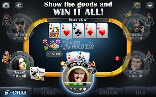 Live Hold'em Pro - Poker- screenshot thumbnail
