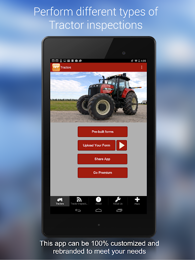 Inspect Tractors Document Data