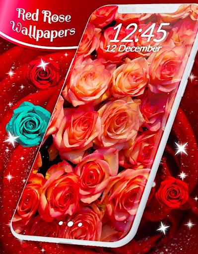 Red Rose Live Wallpaper  screenshots 8