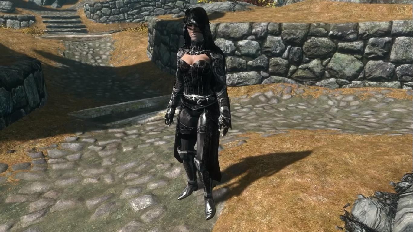 Skyrim Lustmord Vampire armor