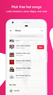 Flipagram: Video Maker + Music Screenshot