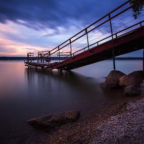 Rest by Chris Timmerman - Landscapes Beaches ( water, long exposure, lake, landscape, landscapes, nebraska, slow shutter, river,  )