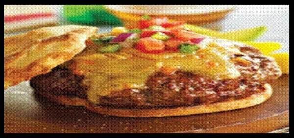 Queso Chorizo Burger Recipe