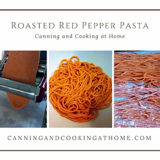 Homemade Roasted Red Pepper Pasta Recipe