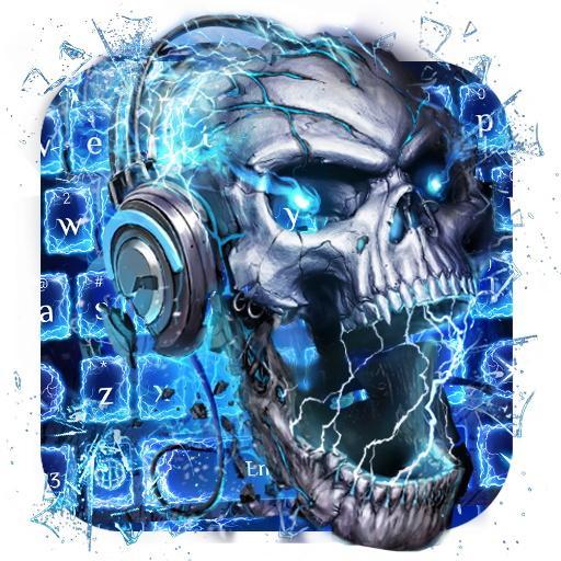 Skull Wallpaper Keyboard