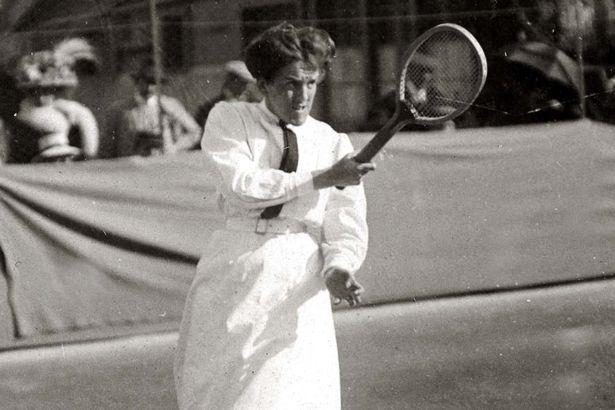 2. Wearing White At Wimbledon