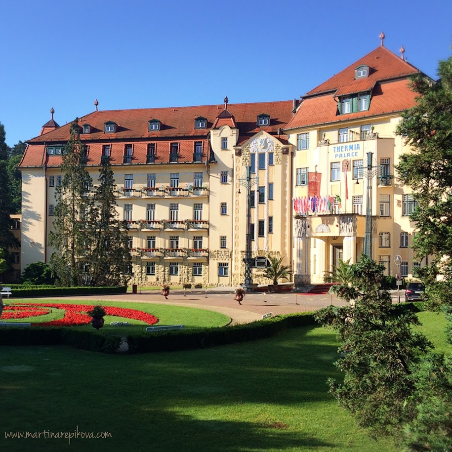 Thermia Palace spa hotel, Piešťany, Slovakia