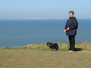 Photo: Na horyzoncie klify Albionu.