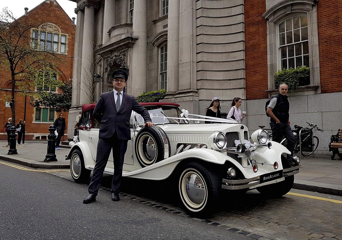 Beauford Bentley Replica Tourer Hire London