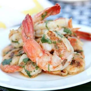 Grilled Shrimp with Caipirinha Vinaigrette