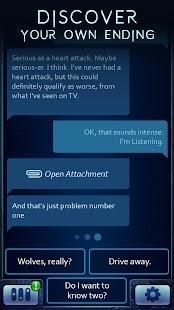 Sender Unknown: The Woods - Text Adventure Ekran Görüntüsü