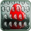 Droplet Heart Keyboard Theme icon