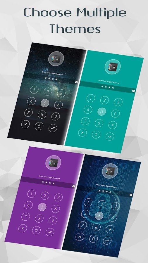 App Locker- screenshot
