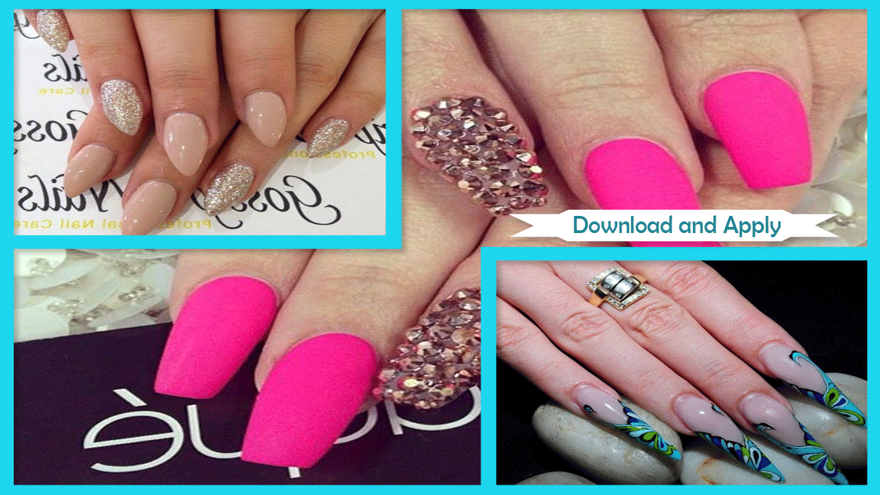 Screenshots of Perfect DIY Stiletto Nails for iPhone