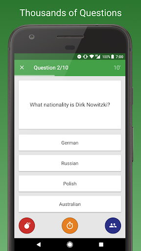 Sports Fan Quiz - NFL, NBA, MLB, NHL, FIFA + 3.1.4 DreamHackers 2