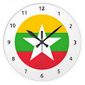 Burmese Clock Widget icon