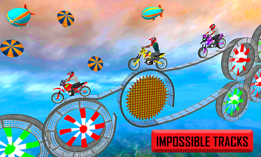 Racing Bike 3D Trial Bike Stunts Ramp Bike Jumping 1.1 screenshots 1