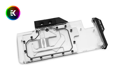 EK vannblokk for skjermkort, EK-Vector Aorus RTX 2080 RGB - Nickel + Plexi