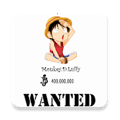 Wanted Poster Maker for OP