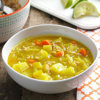 Coconut Curry Vegetable Soup.