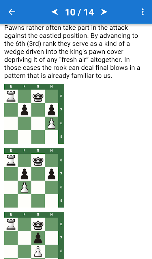 CT-ART. Chess Mate Theory- screenshot