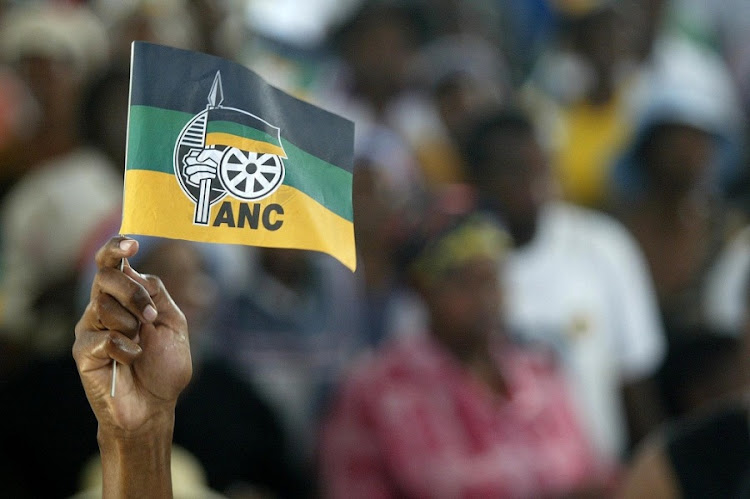 ANC flag. Picture: DAILY DISPATCH