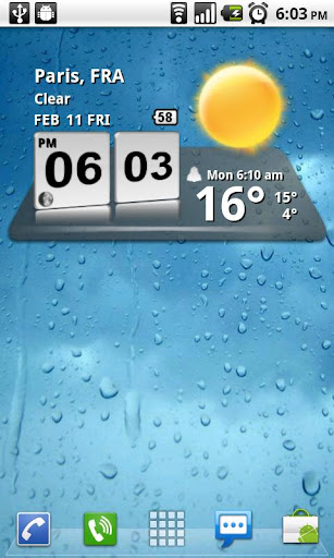 3D Digital Weather Clock screenshot 3