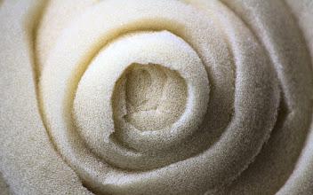 Photo: Foam rubber spiral