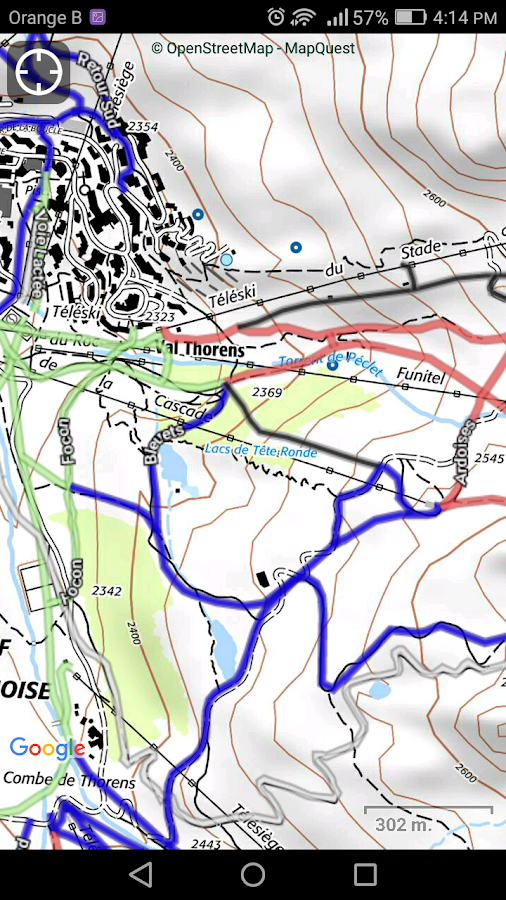 SityTrail France - hiking GPS- screenshot