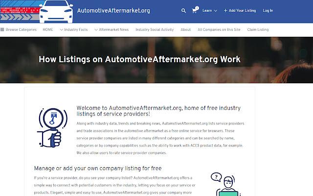 Automotive Aftermarket Listings
