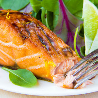 1. Grilled Salmon with Mustard and Herbs Recipe