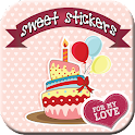 Sweet Stickers Editor icon