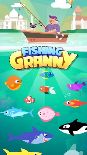 Fishing Granny - Funny,Amazing Fishing Game apkmind screenshots 5
