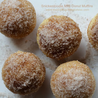 Snickerdoodle Mini Donut Muffins.
